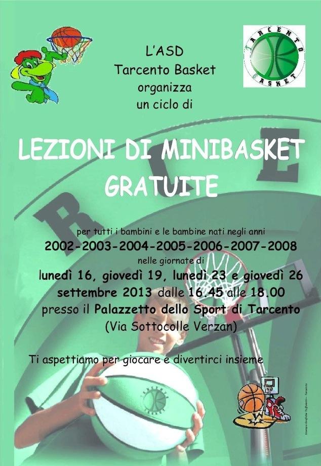 Volantino 2013 Minibasket Verdone
