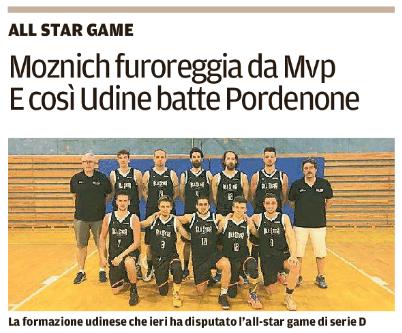 Il titolo dell'articolo di oggi, pubblicato sul Messaggero Veneto