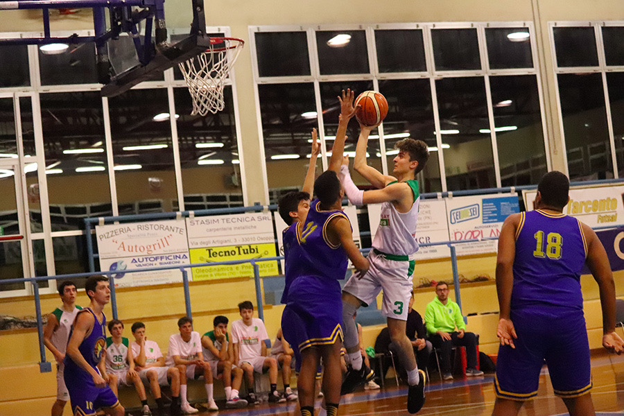Under 20 tarcento basket contro san vito lignano11