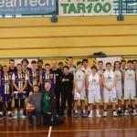 Under 20 tarcento basket sessantesimo anniversario contro budrio1