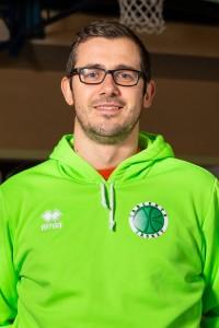 assistente coach simonaggio luca tarcento basket