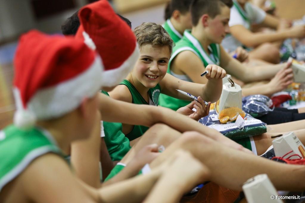 La festa di Natale del Tarcento basket