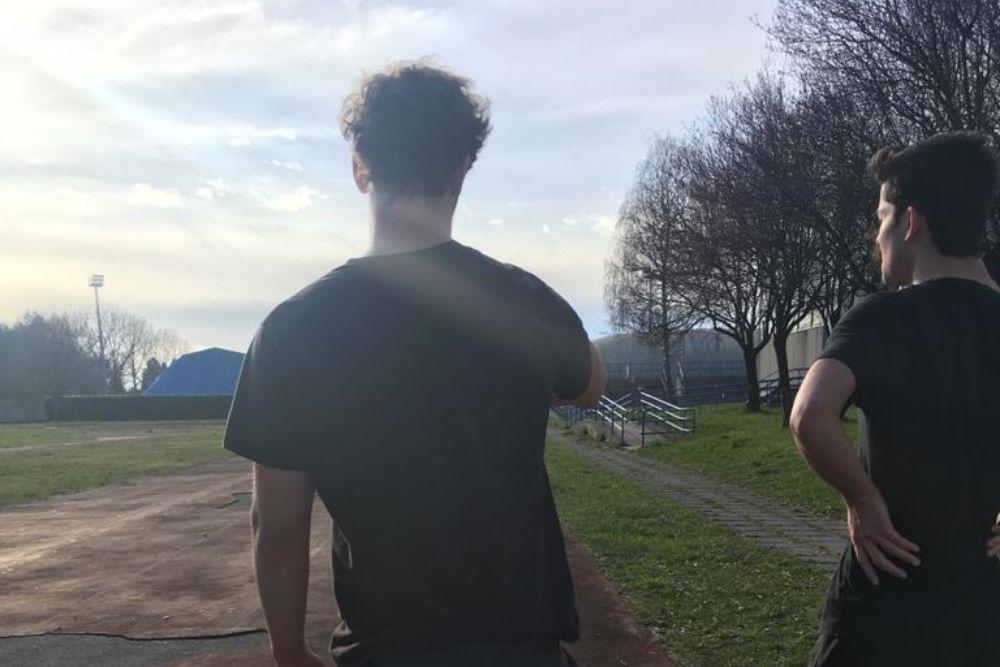 tarcento under 20 allenamento all'aria aperta